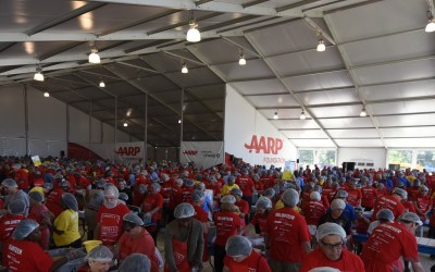 Outreach Program and AARP Pack over 1.2 Million Meals on 9/11!