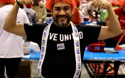 300,000 Outreach Program Meals Packaged at Broward County United Way Day of Caring