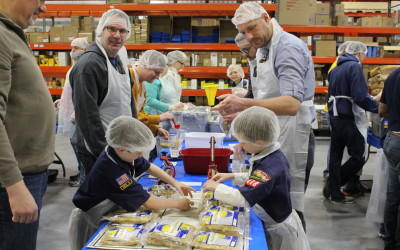 Summer Camps are Perfect for an Outreach Meal Packaging Event!