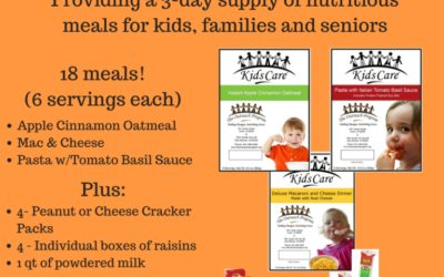 Create an Outreach Meals Pack Program in Your Community!
