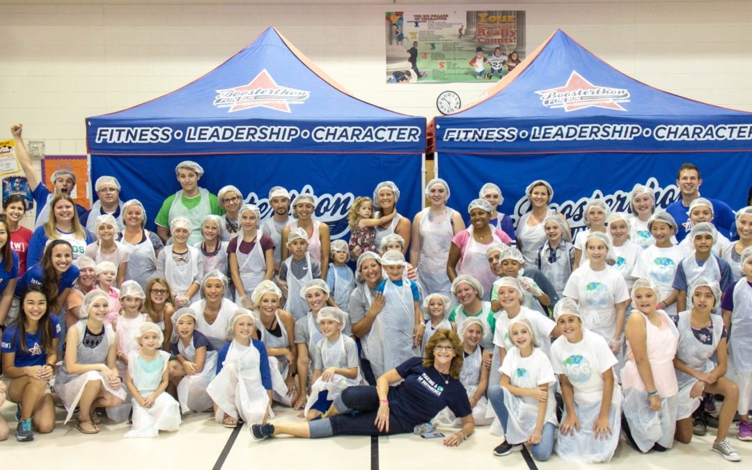 Boosterthon Packages 160,000 Outreach Meals with DIY Kits